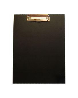 Планшет А4 с зажимом, переплетный, ламинированный картон, цвет черный, ТМ Рюкзачок