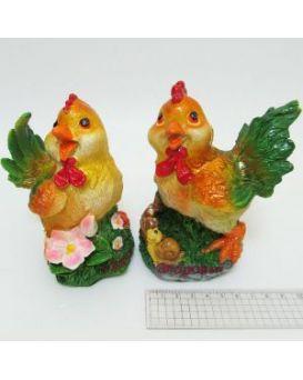Керамический сувенир копилка «Счастливый петушок» 13,5х8 см