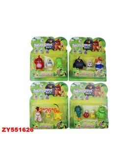 Герои мультфильма «Angry Birds» в ассортименте, 3 шт. на планшетке 22х6х26 см