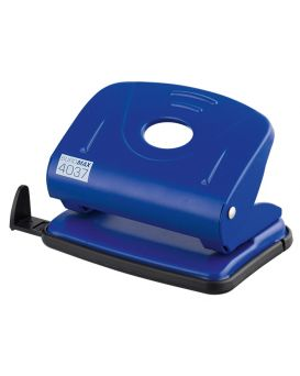 Дырокол металлический (к 20арк.), синий