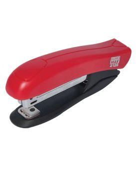 Степлер пластиковый до 10 л., скоба № 10, красный.