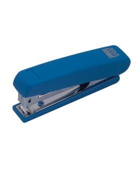 Степлер пластиковый 12 л., скоба № 10 «RUBBER TOUCH» синий.