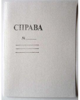 Папка для документов Справа,А4, 0,35 мм,картонная