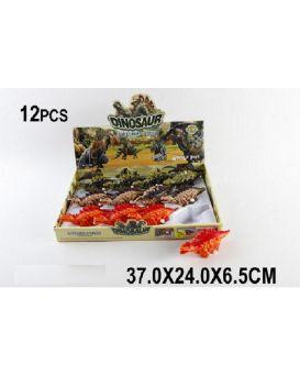 Заводные динозавры SL3388 в ассортименте, в коробке 37*24*6,5 см