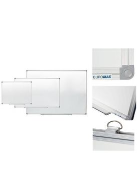Доска магнитная для письма маркером 45 х 60 см, алюминевая рамка, JOBMAX