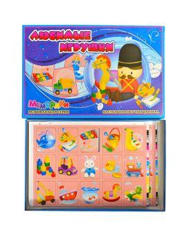 Игра настольная «Любимые игрушки» серия Меморики