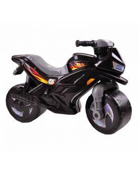 Толокар «Мотоцикл» 2-х колесный, черный, ТМ Орион