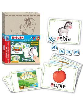 Дидактическая игра с магнитами Vlady Toys English
