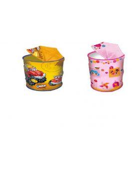 Корзина для игрушек GFL-000 в ассортименте микс товар (45*80) в сумке со змейкой 50см