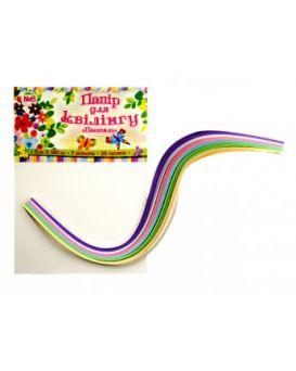 Бумага для квиллинга №06, 6 цветов, 5 мм, 420 мм,