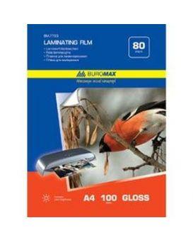 Пленка для ламинирования 80мкм, A4 (216х303мм), 100 шт.