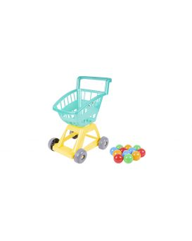Тележка для супермаркета с шариками 37х31х47 см, ТМ Орион