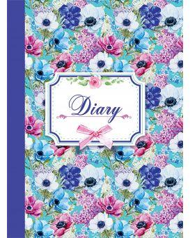 Ежедневник недатированный A5 «LAURA» 288 стр., синий