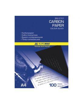 Бумага копировальная 210 х 297 мм, 100 л., черная