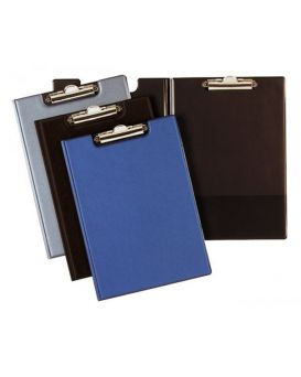 Папка - планшет А5 с зажимом, черная