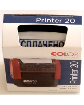 Оснастка для штампа 14 х 38 мм «Оплачено» COLOP