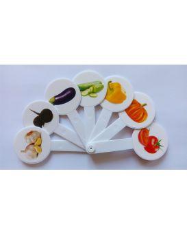 Веер «Цвета овощи»