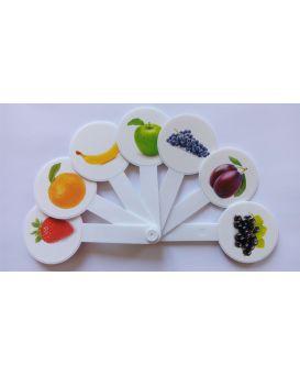 Веер «Цвета фрукты»