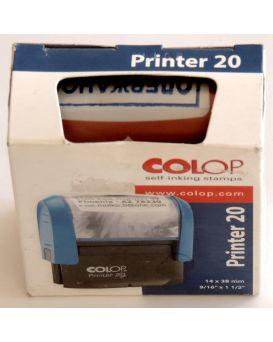 Оснастка для штампа 14 х 38 мм «Получено» COLOP