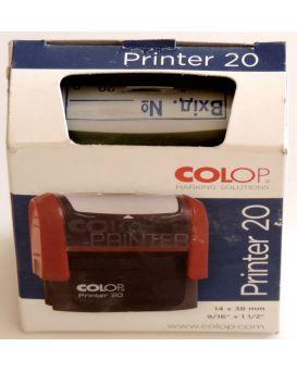 Оснастка для штампа «Входящая №__» COLOP