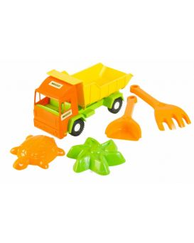 Грузовик «Mini truck» с набором в песке 5 элементов