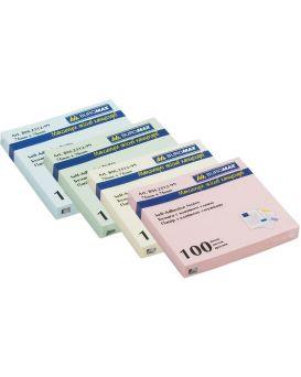 Блок бумаги для заметок 76 х 76 мм, 100 л., в ассортименте