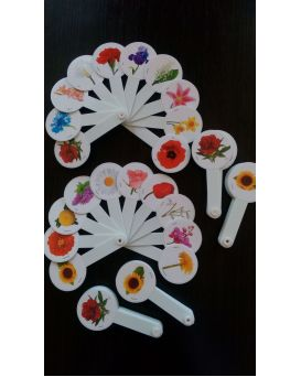 Веер «Цветы»