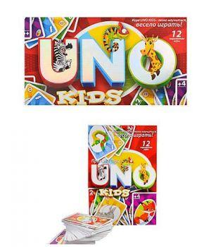 Игра настольная малая «UNO Kids» ТМ Данко Тойс