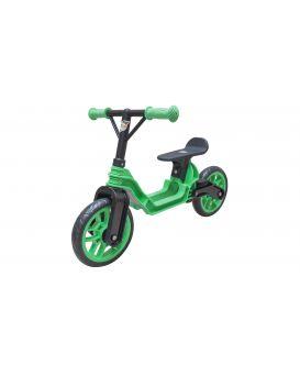 Беговел «Байк» 82х47х52 см, зеленый, ТМ Орион