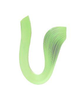 Бумага для квиллинга толщина 3 мм, длина 420 мм «Зеленая пастель» ТМ Рюкзачок