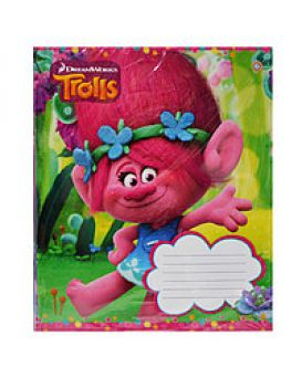 А5/12 лин. ЗУ Trolls color -17 тетрадь учащихся.