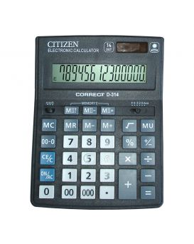Калькулятор CITIZEN D-314