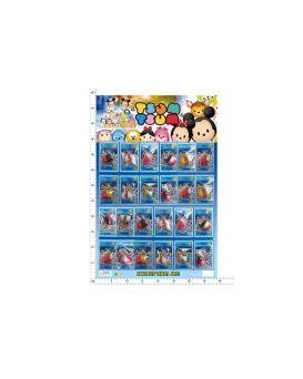 Герои мультфильма «Tsum Tsum» 24 шт. на планшетке 60х40 см