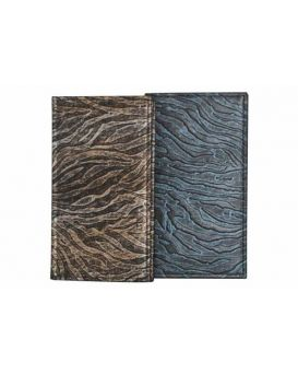 Адресная книга 9,4х17,1 см, 90 л., однокрасочная печать, кремовая бумага