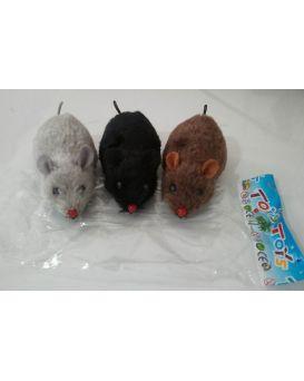 Заводная игрушка «Мышь» в ассортименте, в пакете