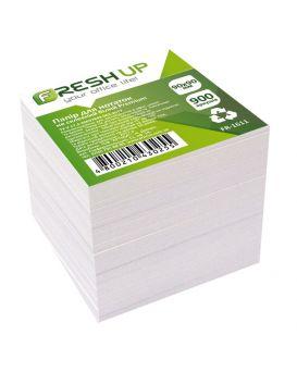 Блок бумаги д/заметок 90*90*900 писем,900арк.,не клеєн., Белый