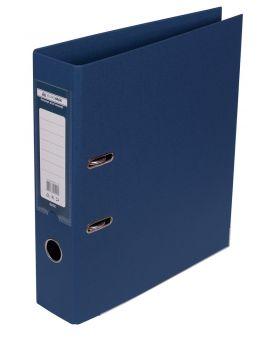 Папка - регистратор А4 ELITE двухсторонняя, сборная, 70 мм, PP, темно синяя.