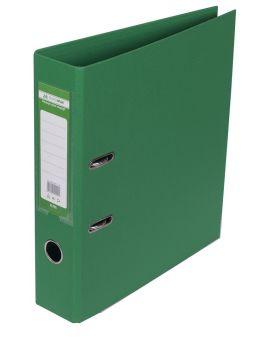 Регистратор ELITE двост. А4, 70мм, PP, зеленый, сборный