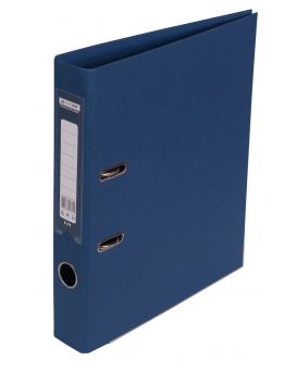 Регистратор ELITE двост. А4, 50мм, PP, т.синий, сборный