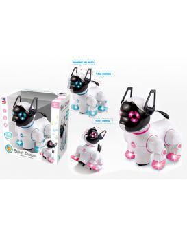 Робот «Кошка» на батарейке, свет, звук, в ассортименте, в коробке