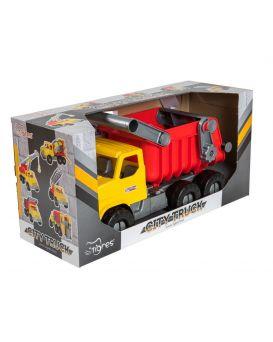 Автомобиль WADER Самосвал City Truck, в коробке