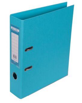 Папка - регистратор А4 ELITE двухсторонняя, сборная, 70 мм, PP, голубая.