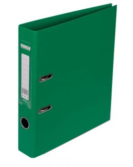 Регистратор ELITE двост. А4, 50мм, PP, зеленый, сборный