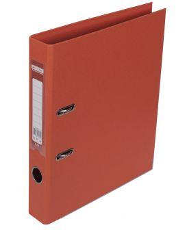 Регистратор А4 ELITE двухсторонний, сборный, 50 мм, PP, оранжевый.