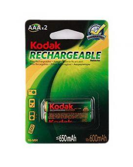 Батарейка rechar Kodak R03 650 mAh аккумулят.