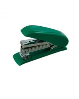 Степлер пластиковый до 20 л., скоба № 24, 26 «POWER SAVING» зеленый.