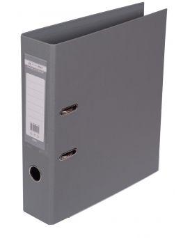 Папка - регистратор А4 ELITE двухсторонняя, сборная, 70 мм, PP, серая.