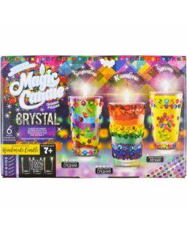 Гелевые свечи своими руками «Magic Candle Crystal» ТМ Данко Тойс