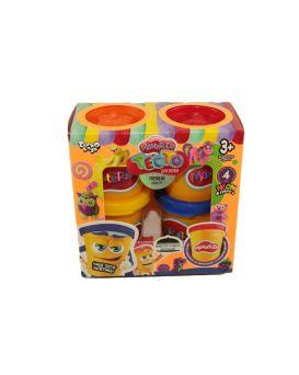 Набор тесто для лепки Master Do 4 цвета по 50 гр., у коробке, рус.