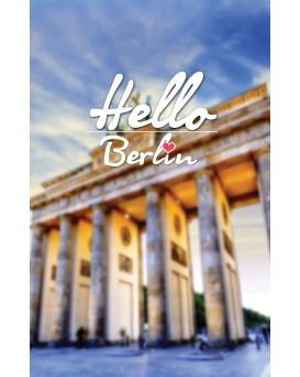 Тетрадь А4 / 144 пл.обл. Hello Berlin YES
